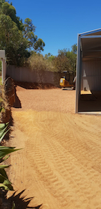 Armadale cut and fill